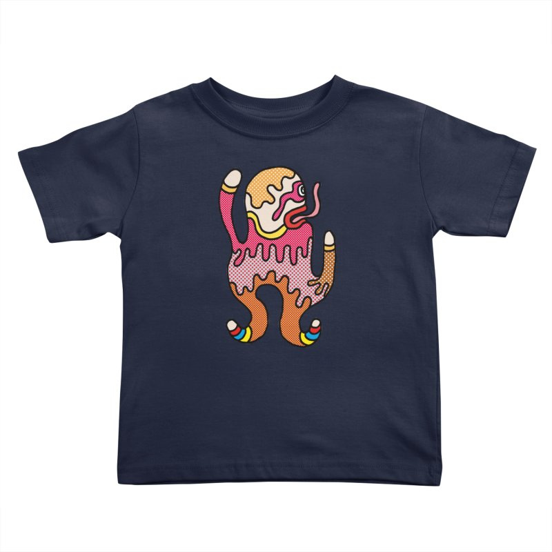 Monster of the day (January 31) [Year 1] Kids Toddler T-Shirt by Daily Monster Shop by Royal Glamsters