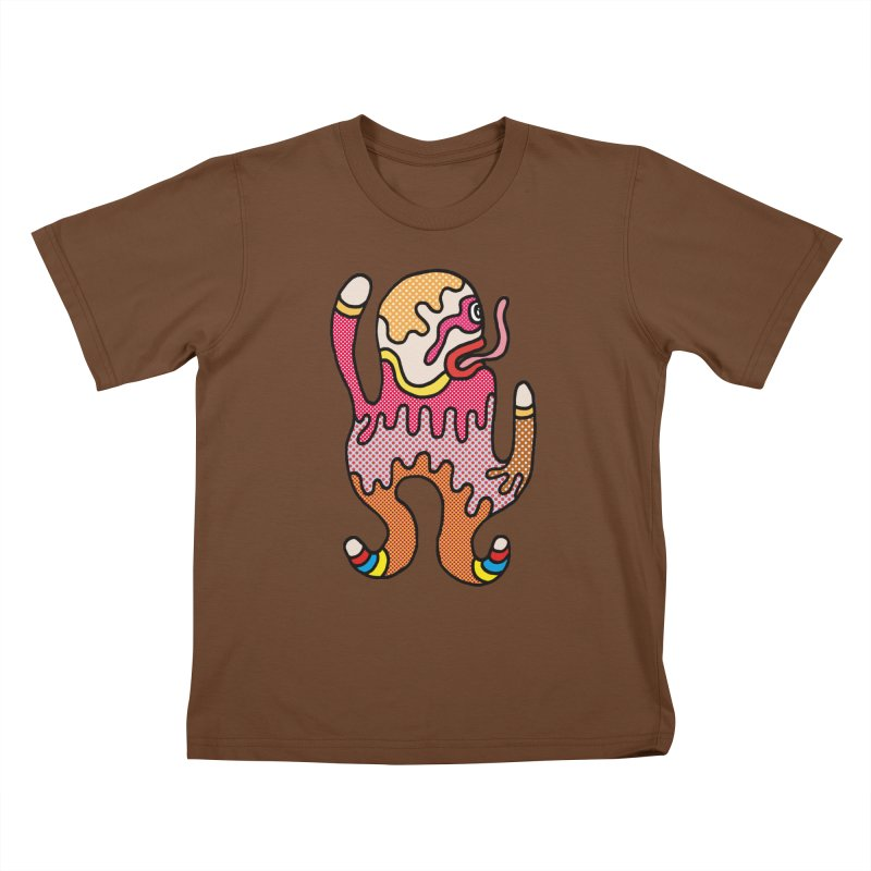Monster of the day (January 31) [Year 1] Kids T-Shirt by Daily Monster Shop by Royal Glamsters