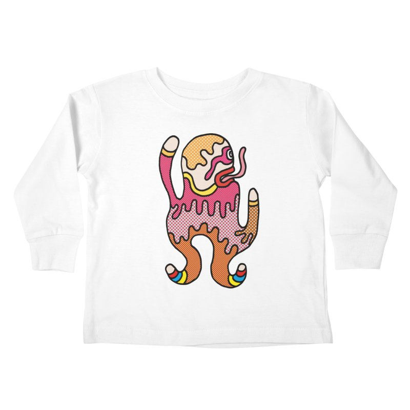 Monster of the day (January 31) [Year 1] Kids Toddler Longsleeve T-Shirt by Daily Monster Shop by Royal Glamsters