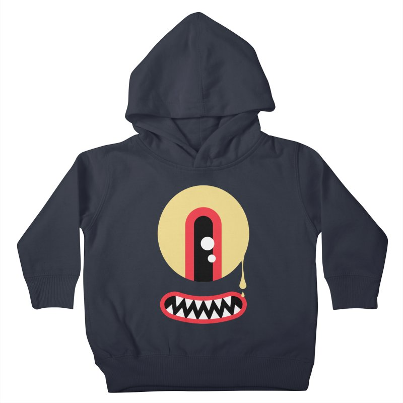 Freakish Face (2) Kids Toddler Pullover Hoody by Daily Monster Shop by Royal Glamsters