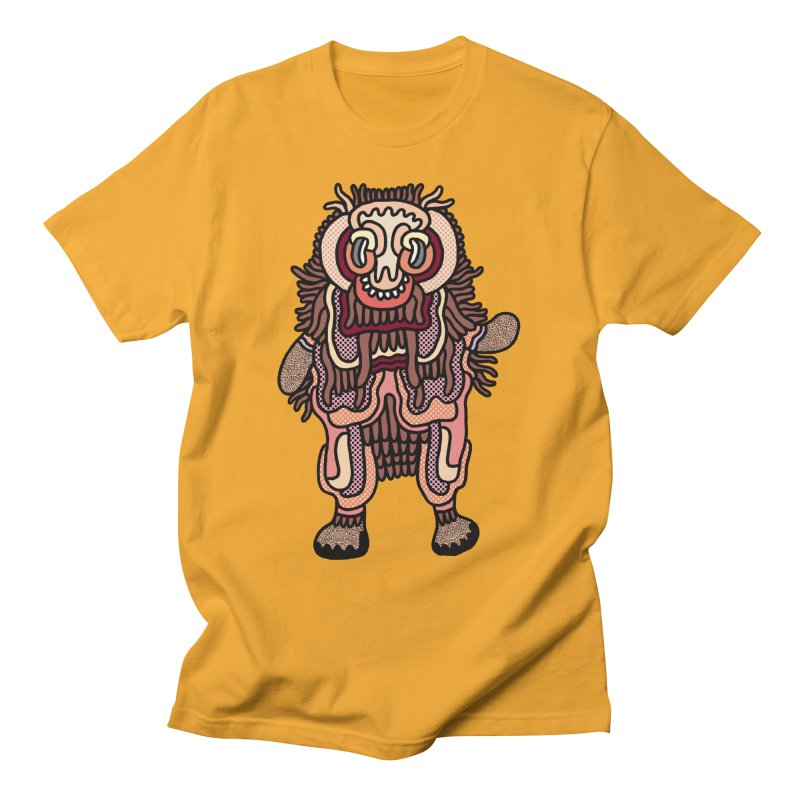 Olmeca Monster of the day (June 3) [Year 1] Men's T-Shirt by Daily Monster Shop by Royal Glamsters