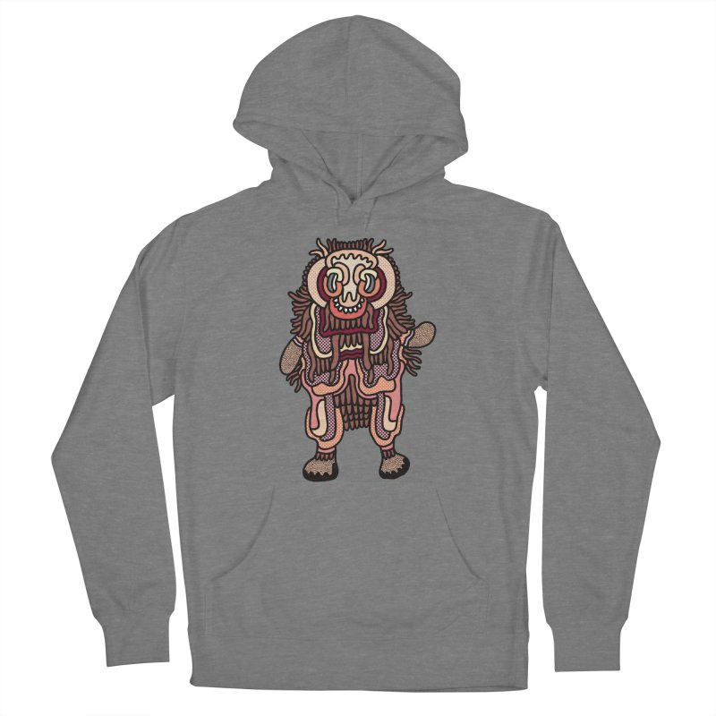 Olmeca Monster of the day (June 3) [Year 1] Women's Pullover Hoody by Daily Monster Shop by Royal Glamsters