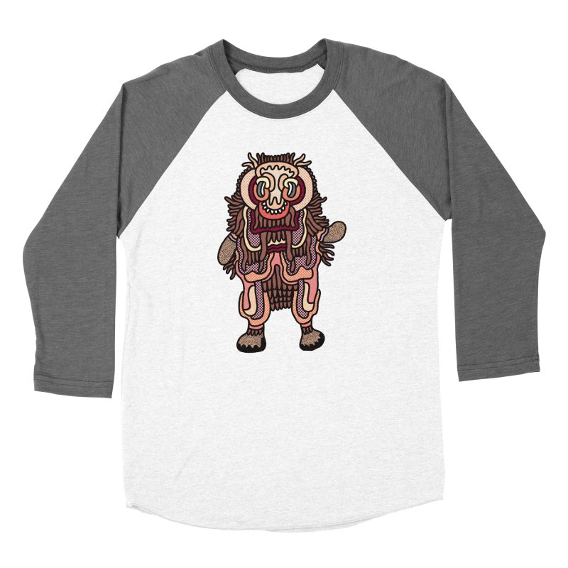 Olmeca Monster of the day (June 3) [Year 1] Women's Longsleeve T-Shirt by Daily Monster Shop by Royal Glamsters