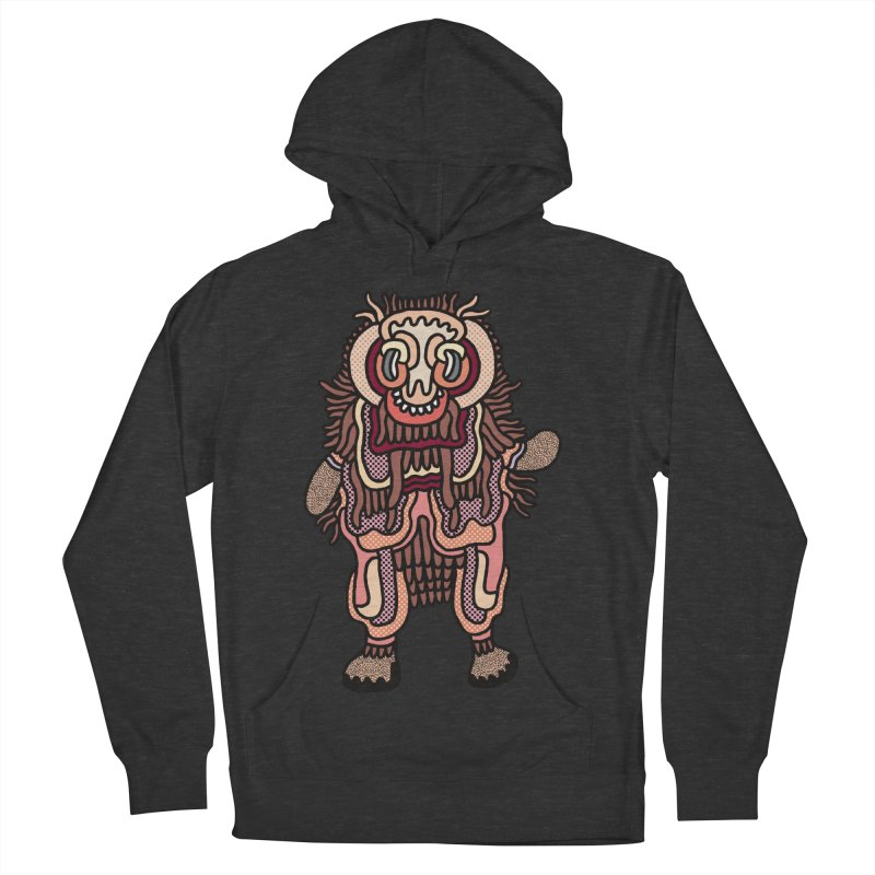 Olmeca Monster of the day (June 3) [Year 1] Women's French Terry Pullover Hoody by Daily Monster Shop by Royal Glamsters