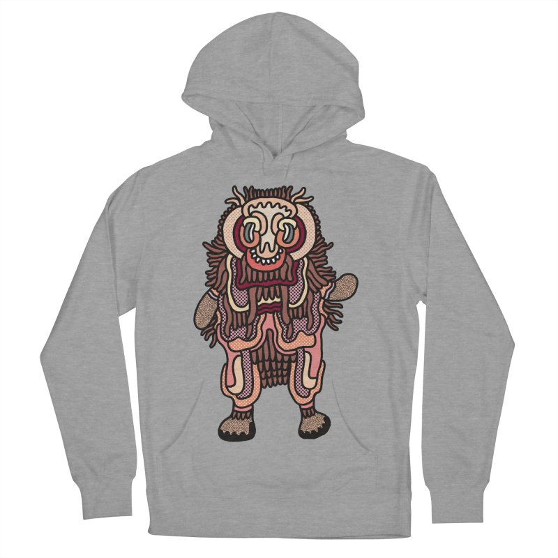 Olmeca Monster of the day (June 3) [Year 1] Men's French Terry Pullover Hoody by Daily Monster Shop by Royal Glamsters