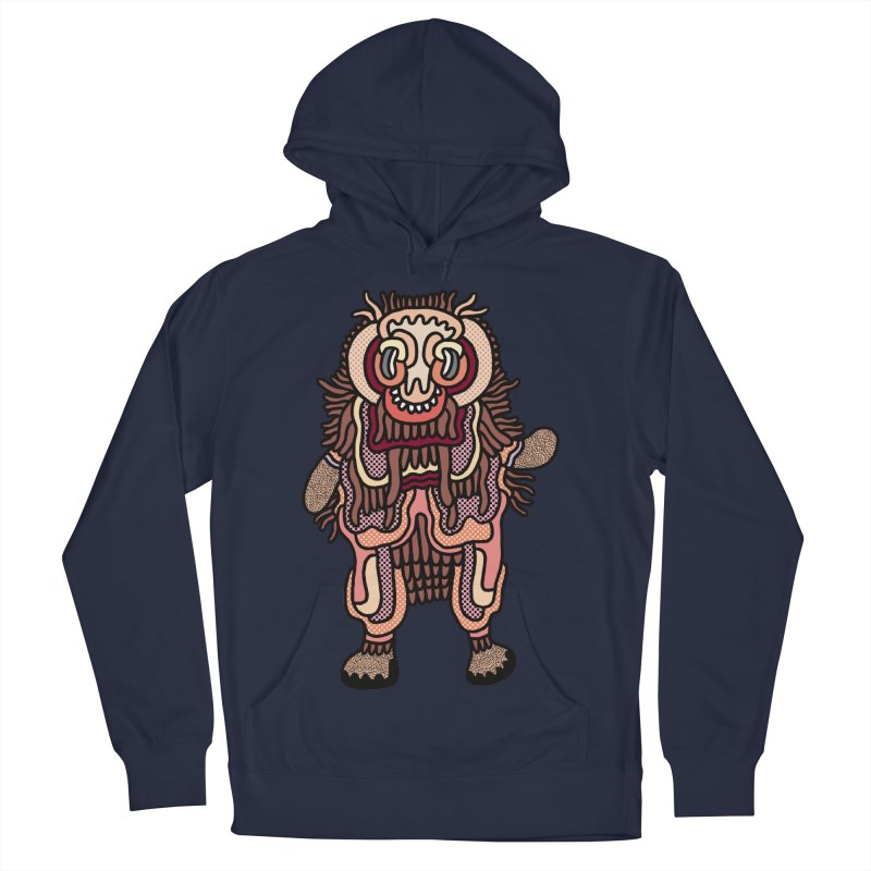 Olmeca Monster of the day (June 3) [Year 1] Men's Pullover Hoody by Daily Monster Shop by Royal Glamsters