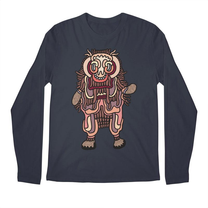 Olmeca Monster of the day (June 3) [Year 1] Men's Longsleeve T-Shirt by Daily Monster Shop by Royal Glamsters
