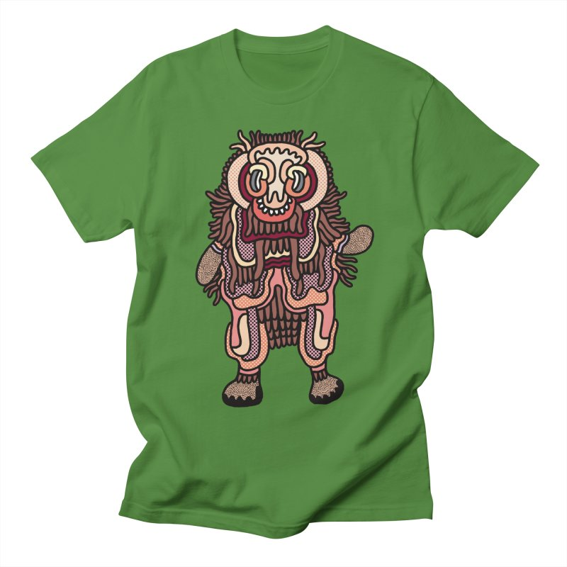 Olmeca Monster of the day (June 3) [Year 1] in Men's Regular T-Shirt Clover by Daily Monster Shop by Royal Glamsters