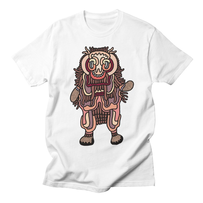 Olmeca Monster of the day (June 3) [Year 1] Men's Regular T-Shirt by Daily Monster Shop by Royal Glamsters