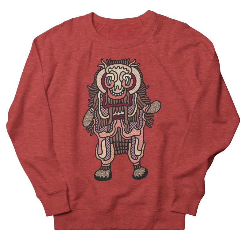 Olmeca Monster of the day (June 3) [Year 1] Women's French Terry Sweatshirt by Daily Monster Shop by Royal Glamsters