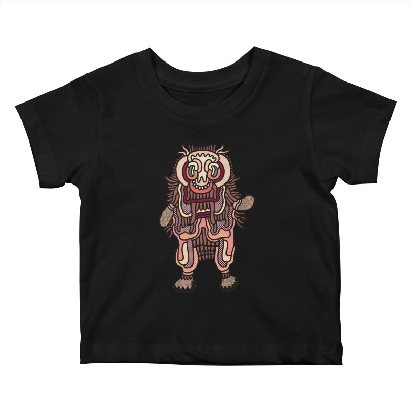Olmeca Monster of the day (June 3) [Year 1] Kids Baby T-Shirt by Daily Monster Shop by Royal Glamsters