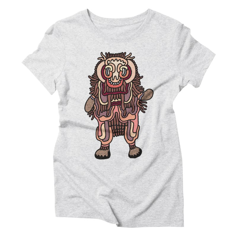 Olmeca Monster of the day (June 3) [Year 1] Women's T-Shirt by Daily Monster Shop by Royal Glamsters
