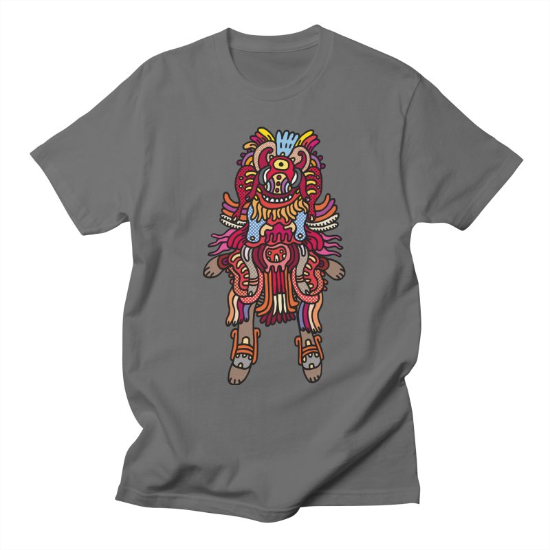 Olmeca Monster of the day (June 29) [Year 1] Men's T-Shirt by Daily Monster Shop by Royal Glamsters