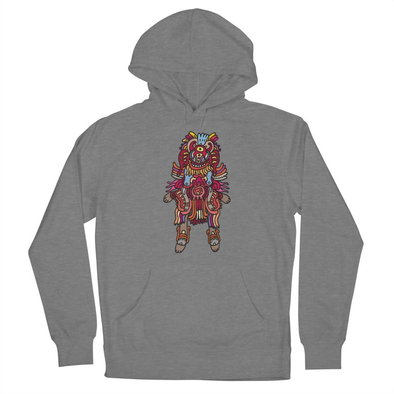 Olmeca Monster of the day (June 29) [Year 1] Women's Pullover Hoody by Daily Monster Shop by Royal Glamsters