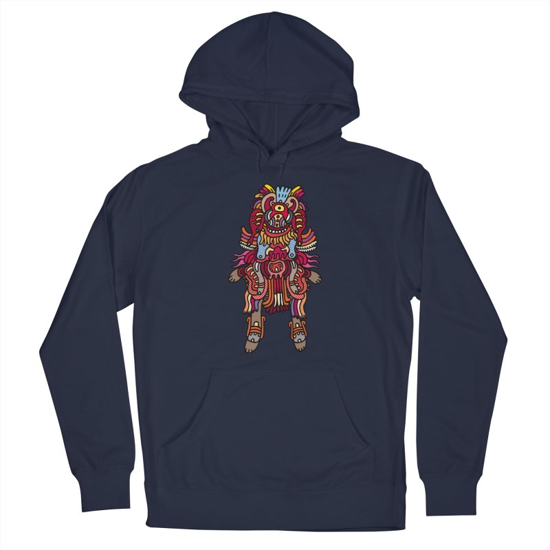 Olmeca Monster of the day (June 29) [Year 1] Women's French Terry Pullover Hoody by Daily Monster Shop by Royal Glamsters