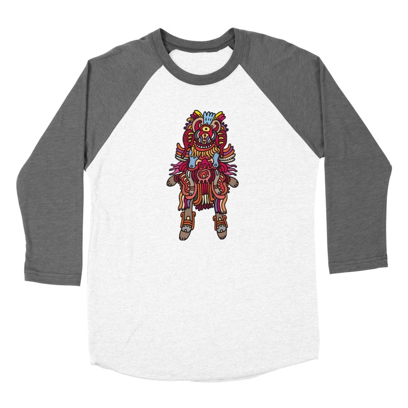 Olmeca Monster of the day (June 29) [Year 1] Women's Longsleeve T-Shirt by Daily Monster Shop by Royal Glamsters