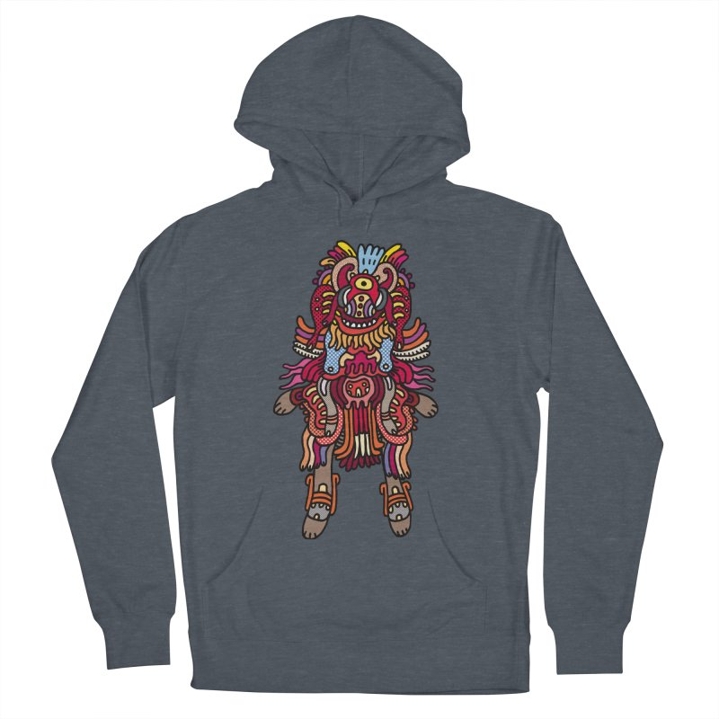 Olmeca Monster of the day (June 29) [Year 1] Men's French Terry Pullover Hoody by Daily Monster Shop by Royal Glamsters