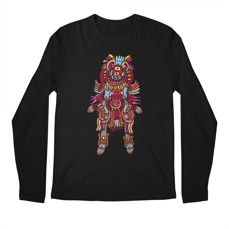 Olmeca Monster of the day (June 29) [Year 1] Men's Longsleeve T-Shirt by Daily Monster Shop by Royal Glamsters