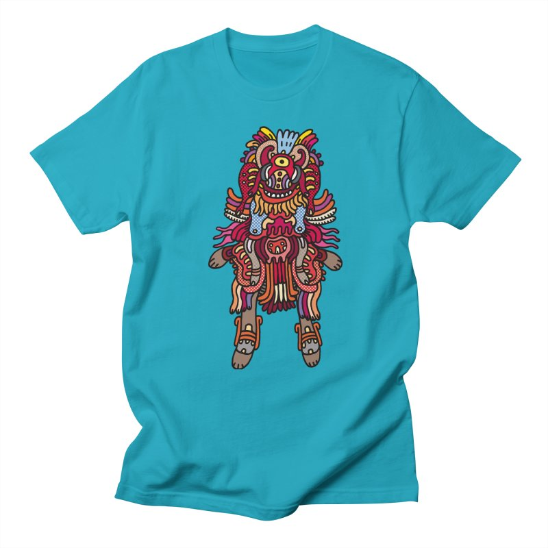 Olmeca Monster of the day (June 29) [Year 1] Women's Regular Unisex T-Shirt by Daily Monster Shop by Royal Glamsters