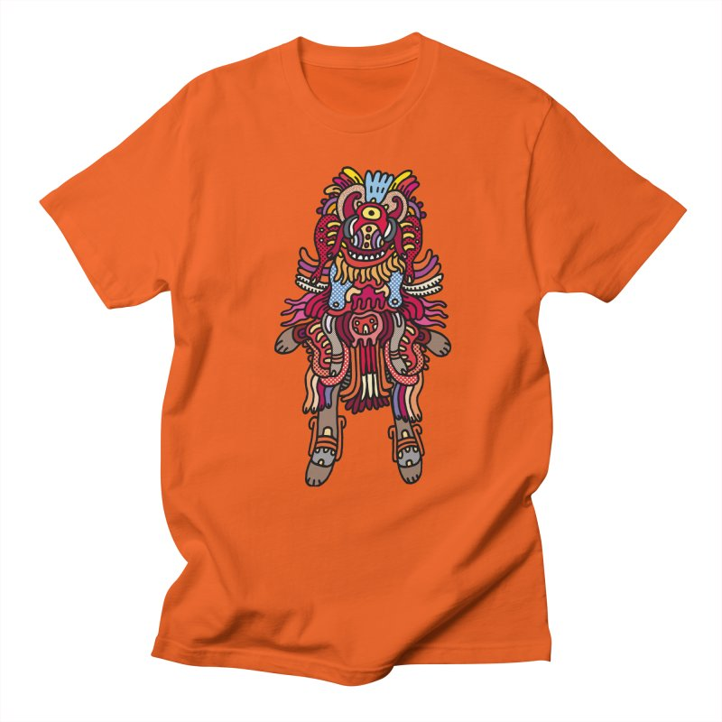 Olmeca Monster of the day (June 29) [Year 1] Men's Regular T-Shirt by Daily Monster Shop by Royal Glamsters