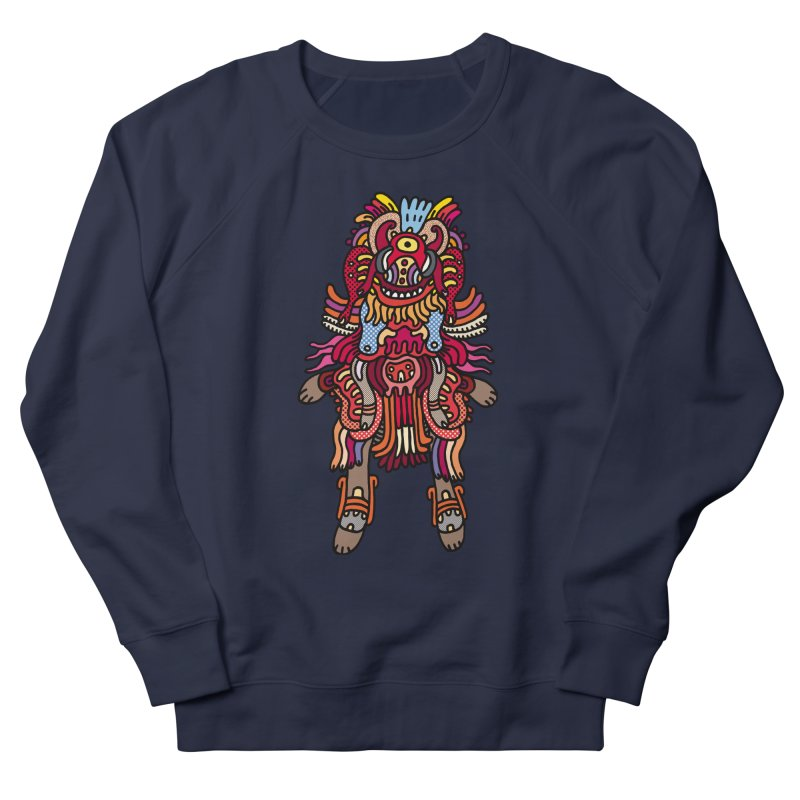 Olmeca Monster of the day (June 29) [Year 1] Women's French Terry Sweatshirt by Daily Monster Shop by Royal Glamsters