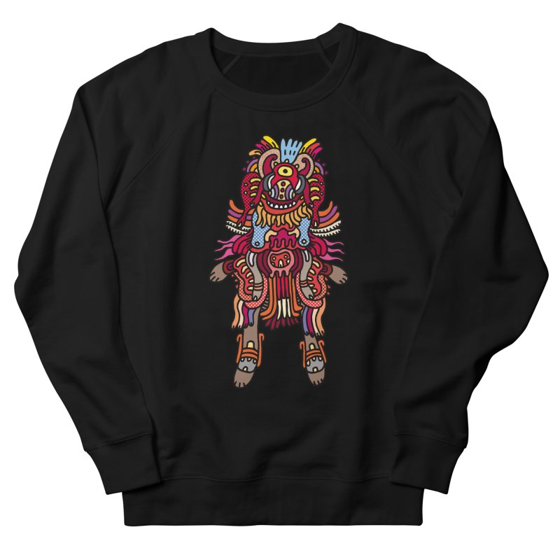 Olmeca Monster of the day (June 29) [Year 1] Men's French Terry Sweatshirt by Daily Monster Shop by Royal Glamsters
