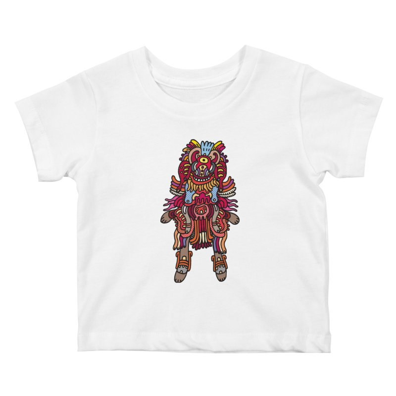 Olmeca Monster of the day (June 29) [Year 1] Kids Baby T-Shirt by Daily Monster Shop by Royal Glamsters