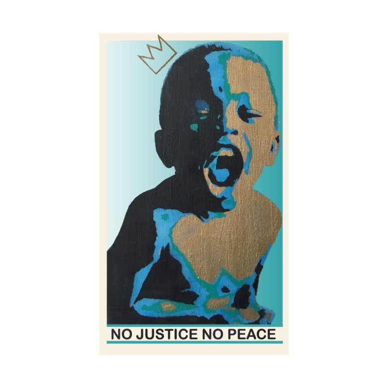 NO JUSTICE - NO PEACE Kids Toddler Zip-Up Hoody by Royal Urban Artist Shop