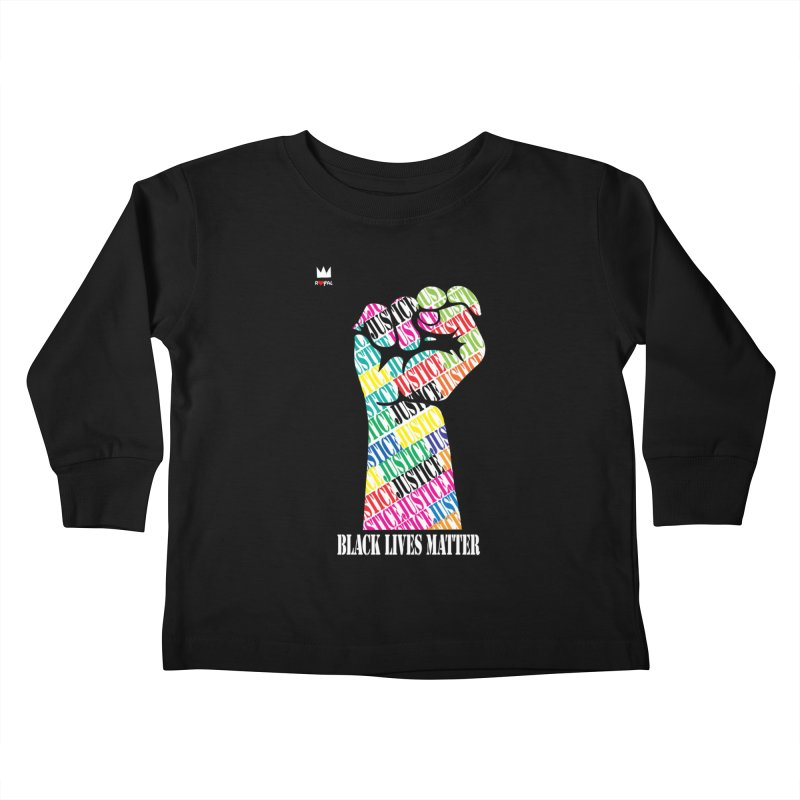 Solidarity Kids Toddler Longsleeve T-Shirt by Royal Urban Artist Shop