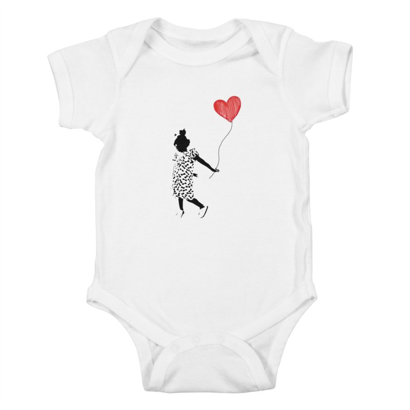 LOVE WINS Kids Baby Bodysuit by Royal Urban Artist Shop