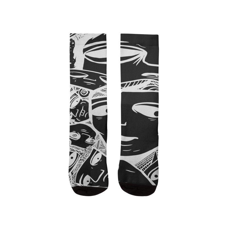 Rube Black Men's Socks by RubeZilla