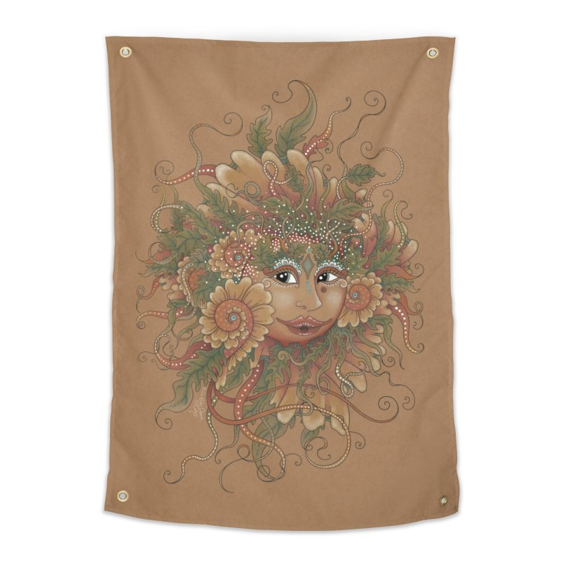 Sunshine Home Tapestry by Ruby Charm Colors Artist Shop