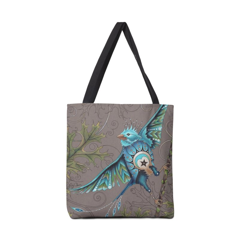 """Ruby Charm Colors """"Little Bird"""" in Tote Bag by Ruby Charm Colors Artist Shop"""