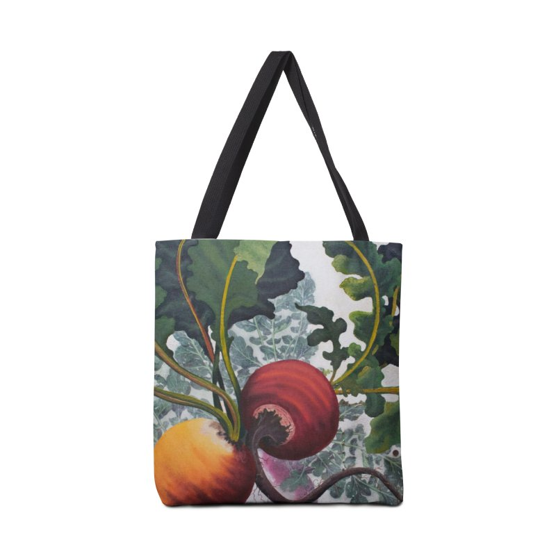 """Garden Goods """"Eat Up Your Beets"""" Accessories Bag by Ruby Charm Colors Artist Shop"""