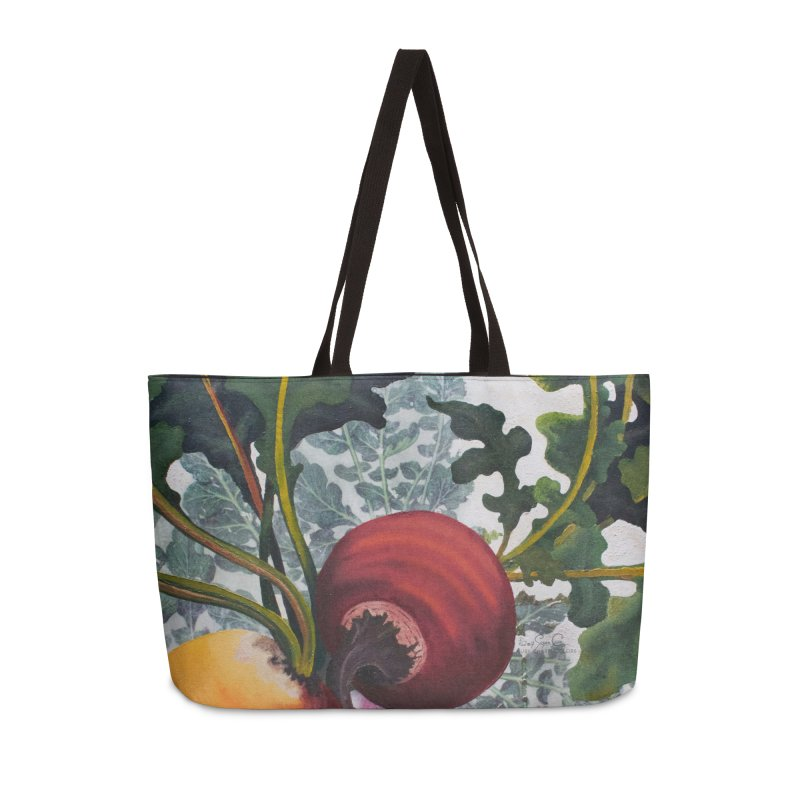 "Garden Goods ""Eat Up Your Beets"" Accessories Bag by Ruby Charm Colors Artist Shop"