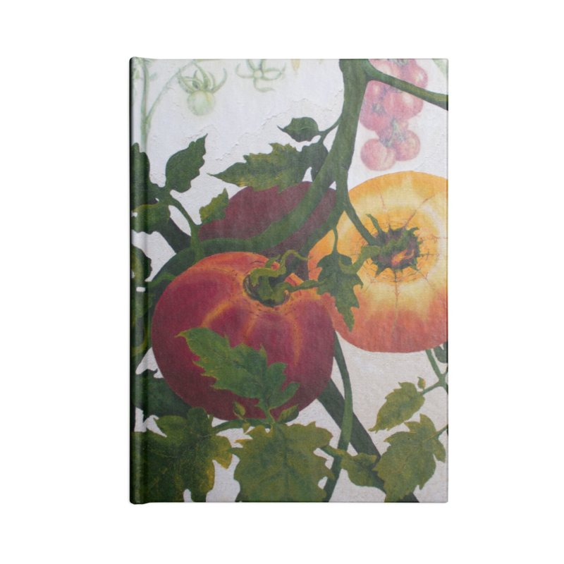 "Garden Goods ""You Say Tomato"" Accessories Notebook by Ruby Charm Colors Artist Shop"