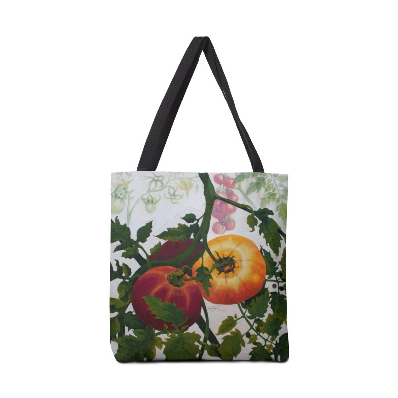 """Garden Goods """"You Say Tomato"""" in Tote Bag by Ruby Charm Colors Artist Shop"""
