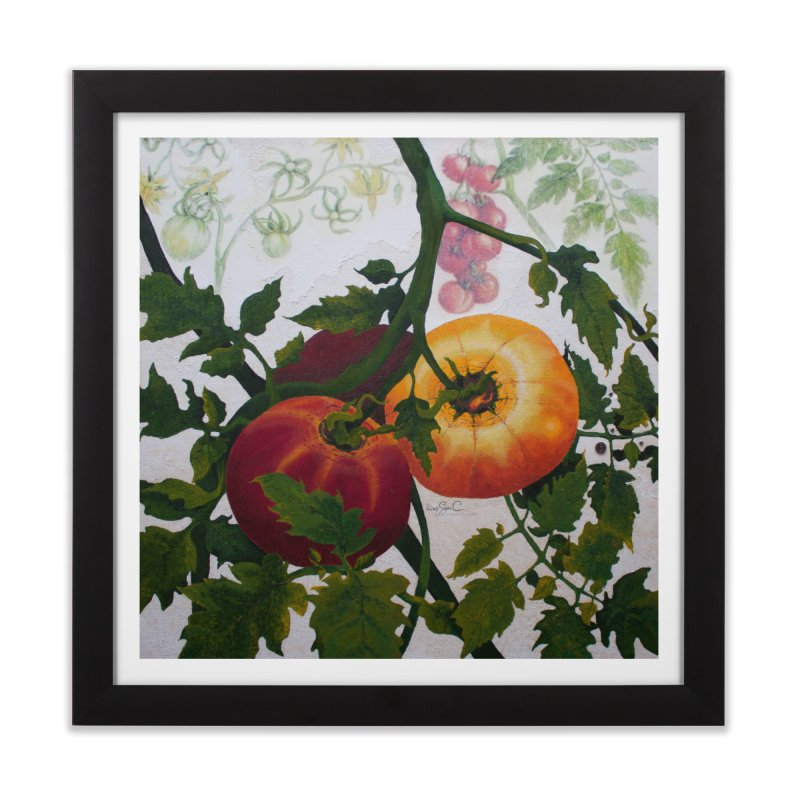 "Garden Goods ""You Say Tomato"" Home Framed Fine Art Print by Ruby Charm Colors Artist Shop"