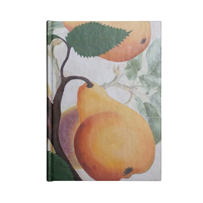 "Garden Goods ""Grow a Pear"" Accessories Notebook by Ruby Charm Colors Artist Shop"