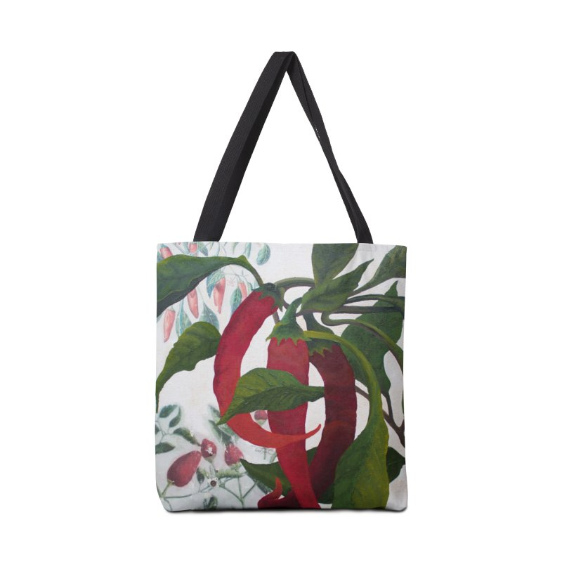 "Garden Goods ""Picked a Pepper"" in Tote Bag by Ruby Charm Colors Artist Shop"
