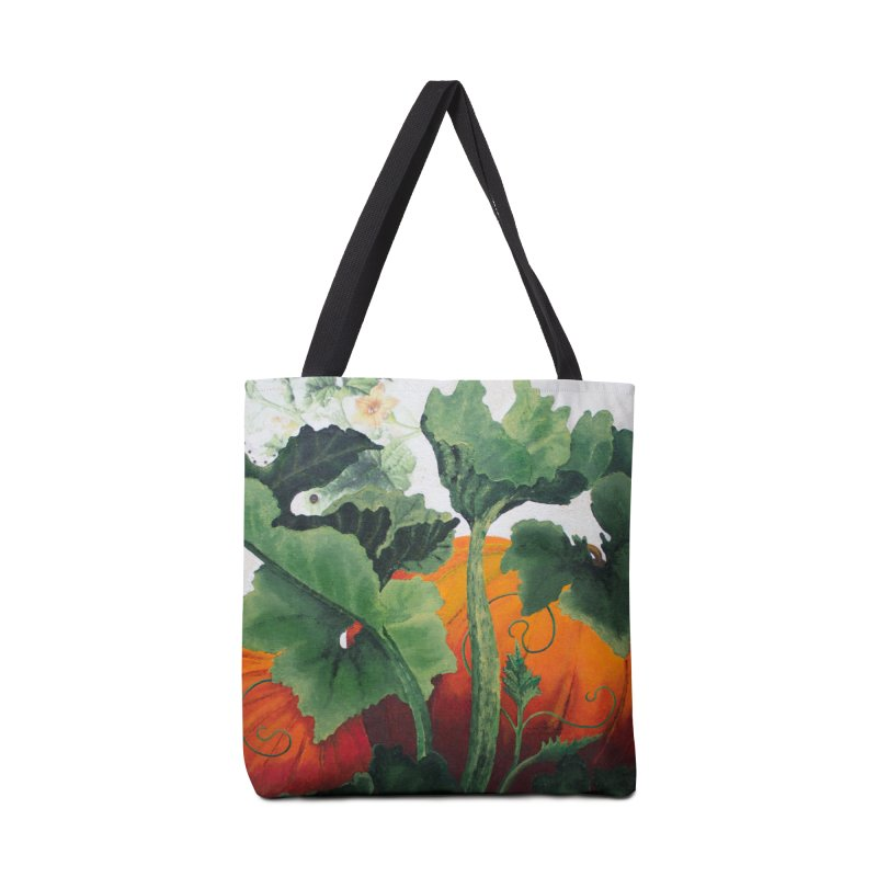 "Garden Goods ""Turn Into a Pumpkin"" in Tote Bag by Ruby Charm Colors Artist Shop"