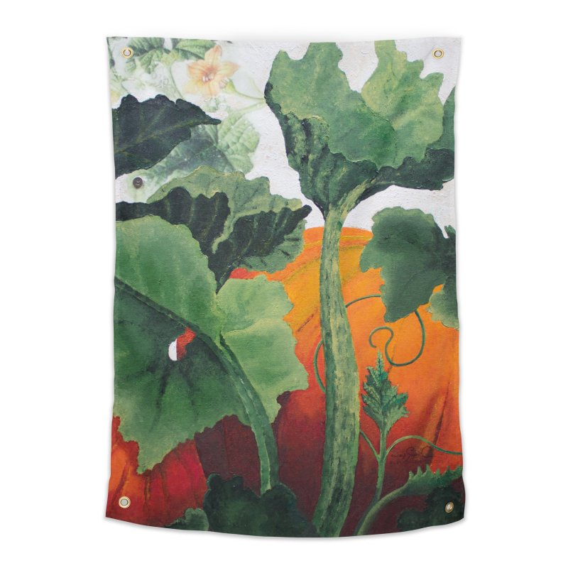 """Garden Goods """"Turn Into a Pumpkin"""" Home Tapestry by Ruby Charm Colors Artist Shop"""
