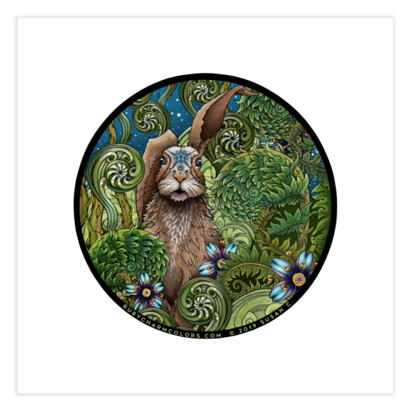 March Hare in Fine Art Print by Ruby Charm Colors Artist Shop