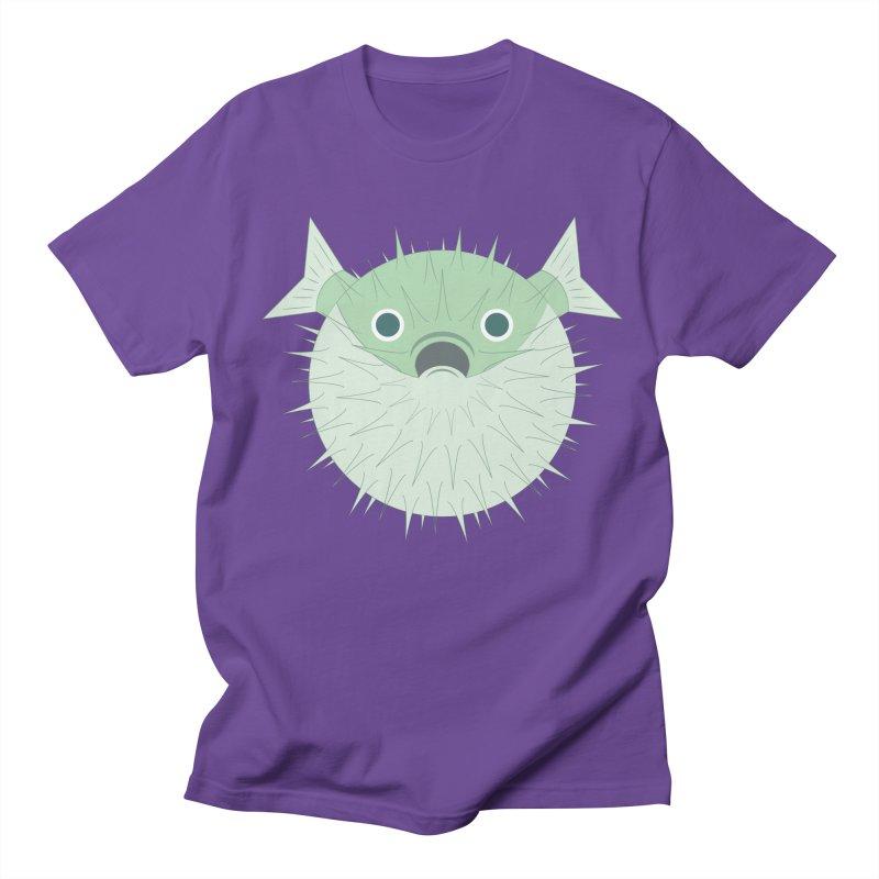 Shock Cousteau's Blowfish Women's Regular Unisex T-Shirt by Runderella's Artist Shop
