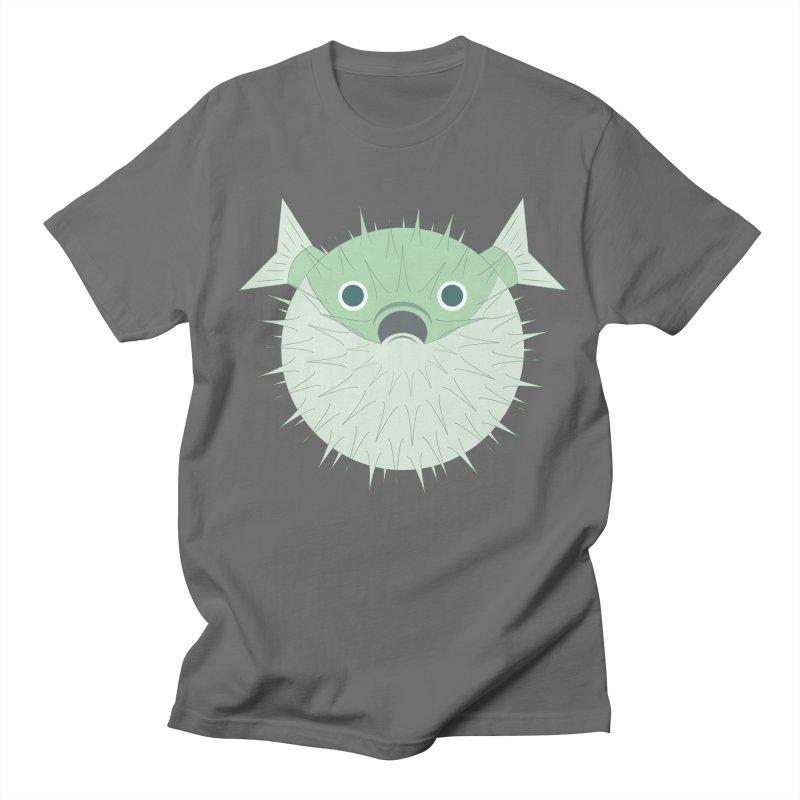 Shock Cousteau's Blowfish Men's T-Shirt by Runderella's Artist Shop