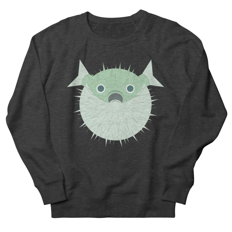 Shock Cousteau's Blowfish Women's French Terry Sweatshirt by Runderella's Artist Shop