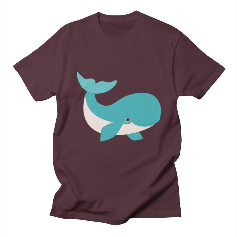 Shock Cousteau's Whale  Women's Regular Unisex T-Shirt by Runderella's Artist Shop