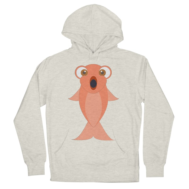 Shock Cousteau's Koi Women's French Terry Pullover Hoody by Runderella's Artist Shop