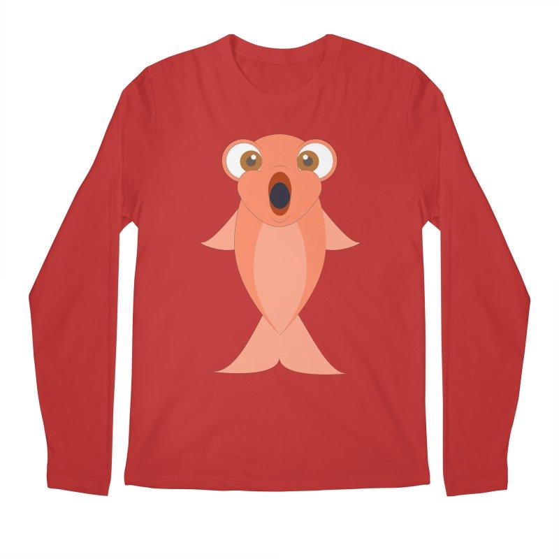 Shock Cousteau's Koi Men's Regular Longsleeve T-Shirt by Runderella's Artist Shop