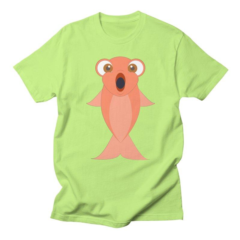Shock Cousteau's Koi Women's Regular Unisex T-Shirt by Runderella's Artist Shop